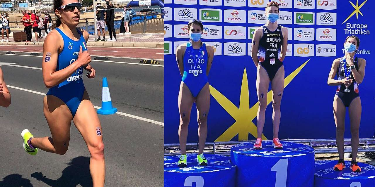Angelica Olmo seconda nella Coppa Europa triathlon di Melilla! Leo Bergere trionfa tra gli uomini