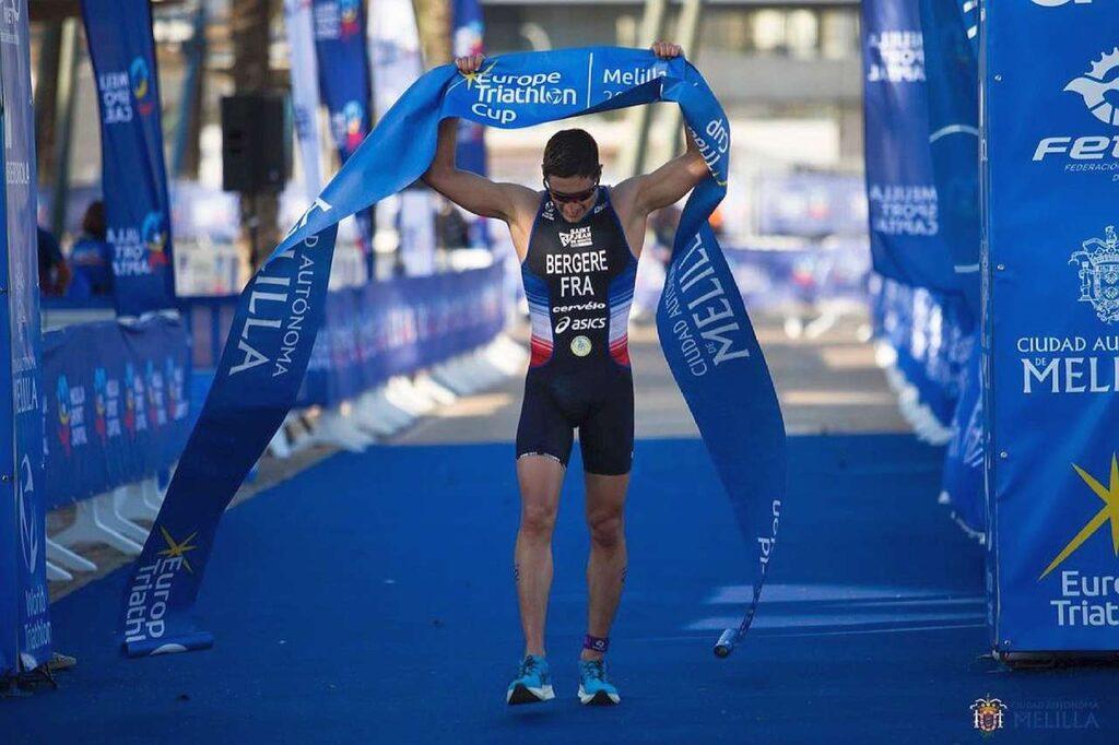 Leo Bergere trionfa alla Coppa Europa Triathlon Sprint di Melilla 2021
