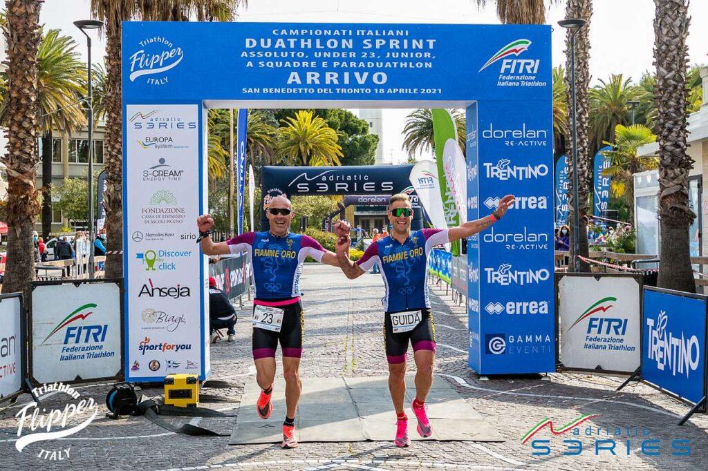 Loris Cappanna vince i Campionati Italiani di Paraduathlon 2021 a San Benedetto del Tronto