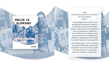 """""""Voglio le Olimpiadi""""! Questa sera Alessandro Carvani Minetti presenta la sua autobiografia"""