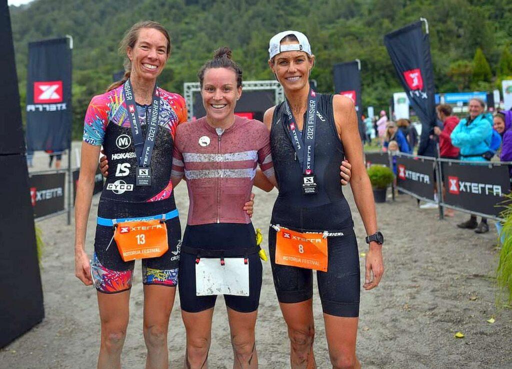 XTERRA Rotorua 2021, vince Samantha Kingsford