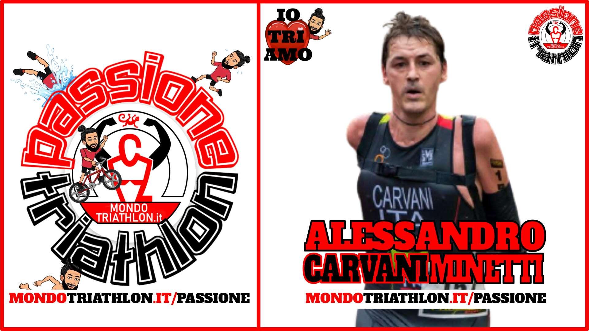 Alessandro Carvani Minetti – Passione Triathlon n° 148