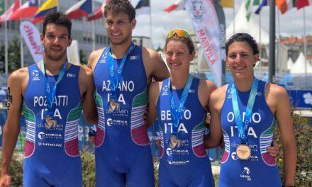 Italia, la staffetta mista conquista il pass per le Olimpiadi con Angelica Olmo, Gianluca Pozzatti, Alice Betto e Nicola Azzano!