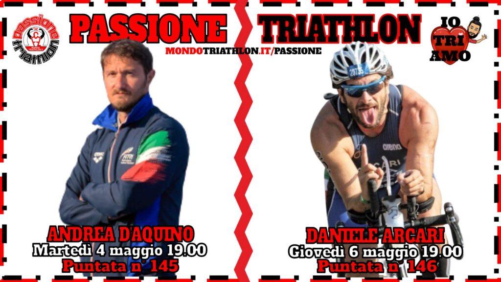 Copertina Passione Triathlon 4 e 6 maggio 2021 - Andrea D'Aquino e Daniele Arcari