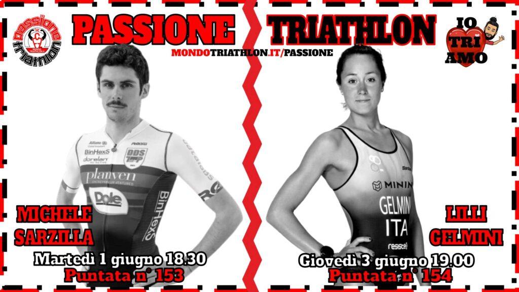 Copertina Passione Triathlon 1 e 3 giugno 2021 - Michele Sarzilla e Lilli Gelmini