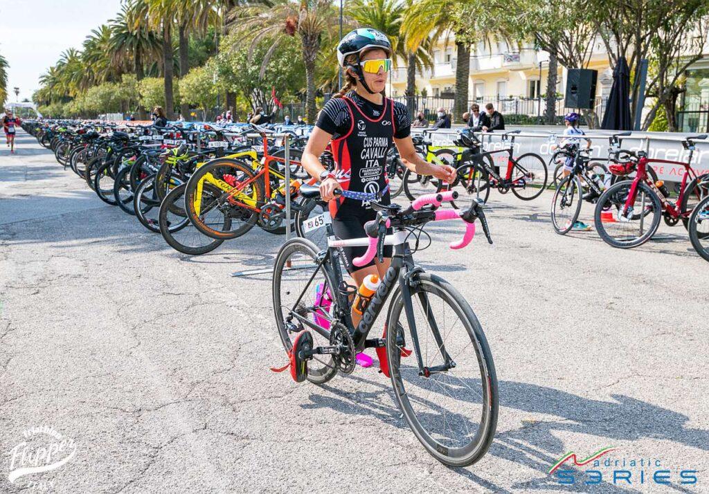Chiara Cavalli Italiani Duathlon Sprint San Benedetto 2021