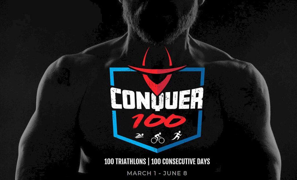 Iron Cowboy, James Lawrence, Conquer 100