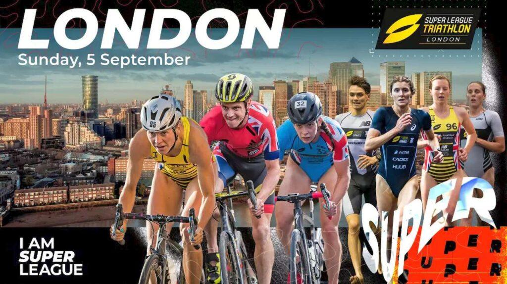 Super League Triathlon Championship Series 2021 London