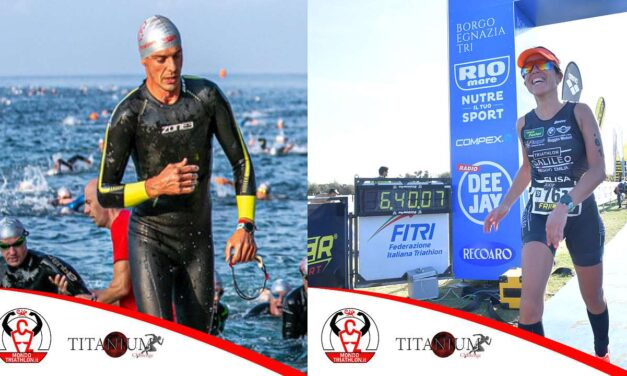 Titanium Challenge, i due pettorali vanno a Elisa Belli e Luca Ferraro, pronti al via!