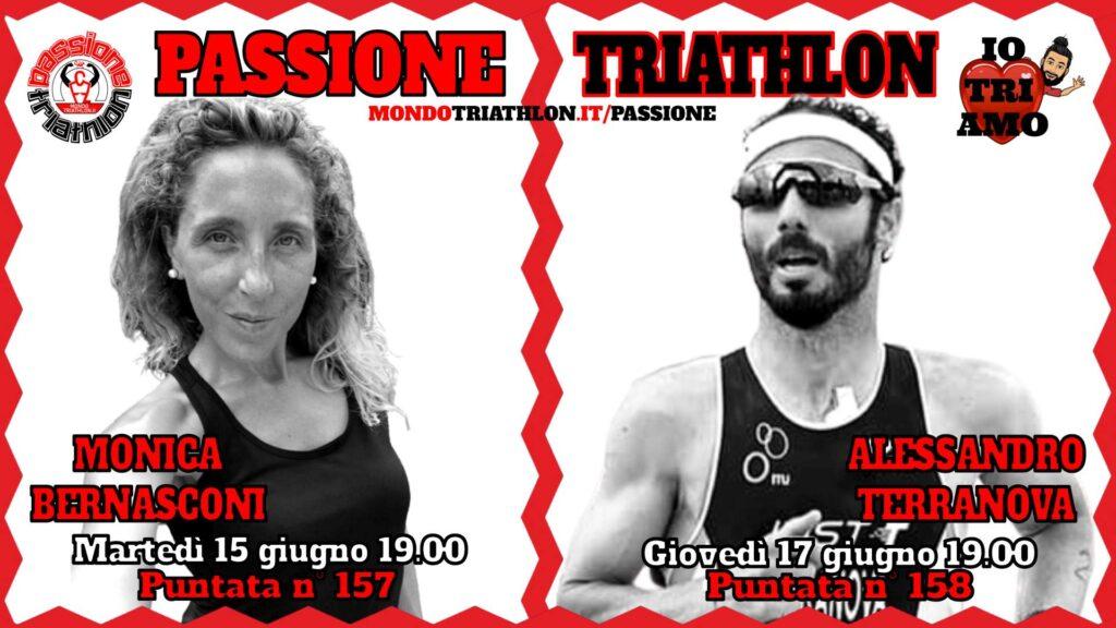 Copertina Passione Triathlon 15 e 17 giugno 2021 - Monica Bernasconi e Alessandro Terranova