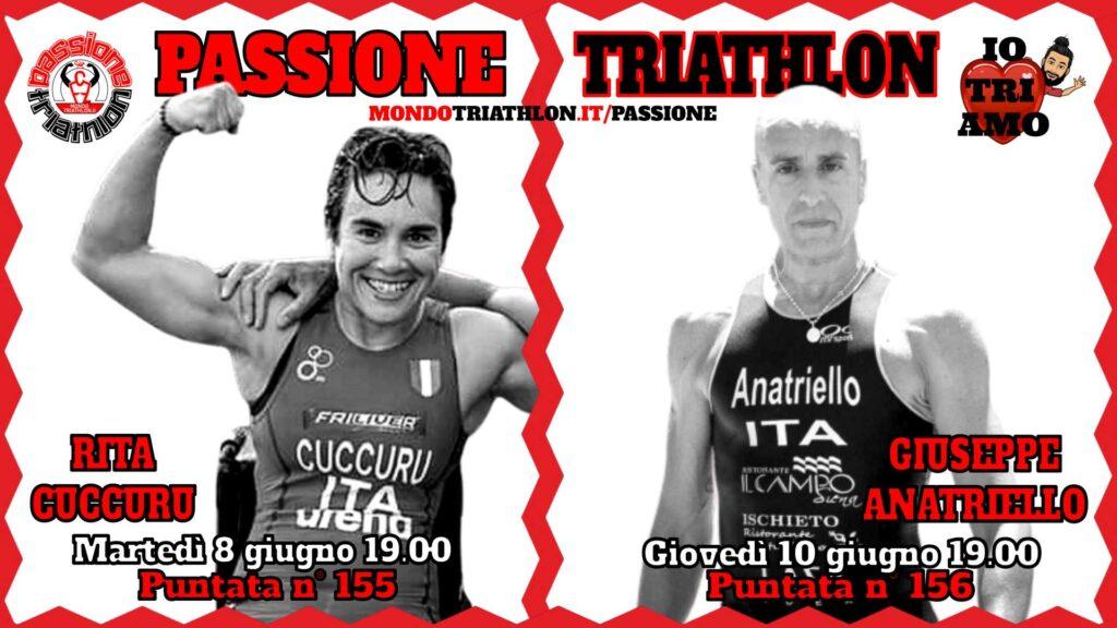 Copertina Passione Triathlon 8 e 10 giugno 2021 - Rita Cuccuru e Giuseppe Anatriello
