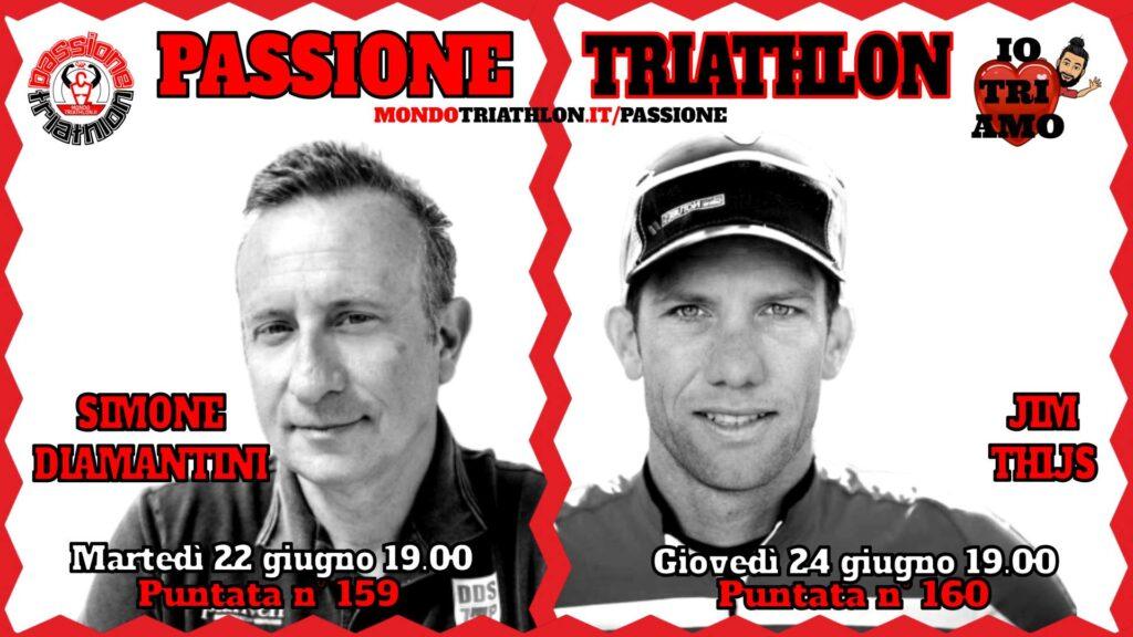 Copertina Passione Triathlon 22 e 24 giugno 2021 - Simone Diamantini e Jim Thijs