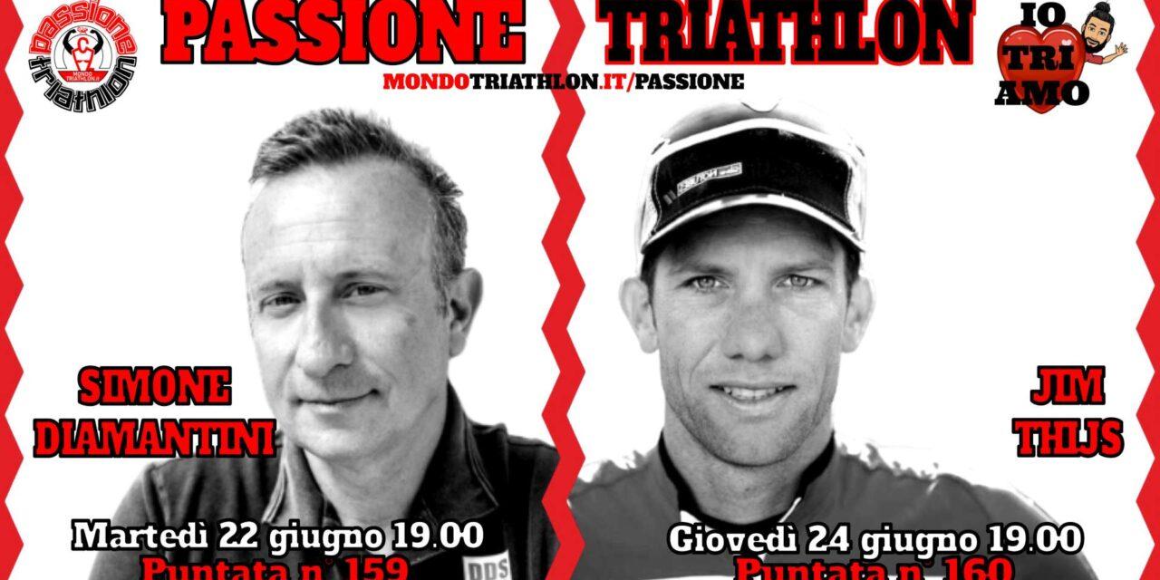 Passione Triathlon Protagonisti 22 e 24 giugno 2021