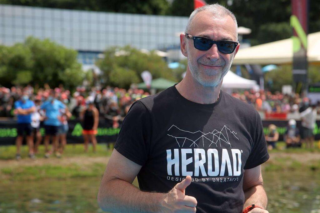 Linus al Deejay TRI 2021 (Foto: Marco Bardella)