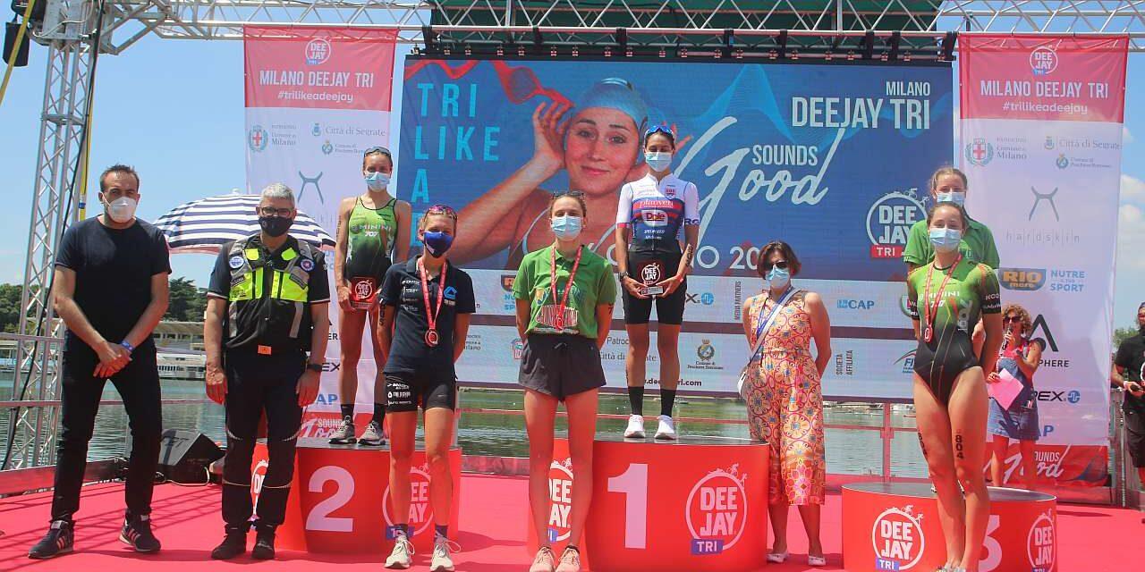 Luisa Iogna Prat e Gregory Barnaby vincono il Deejay Tri Sprint