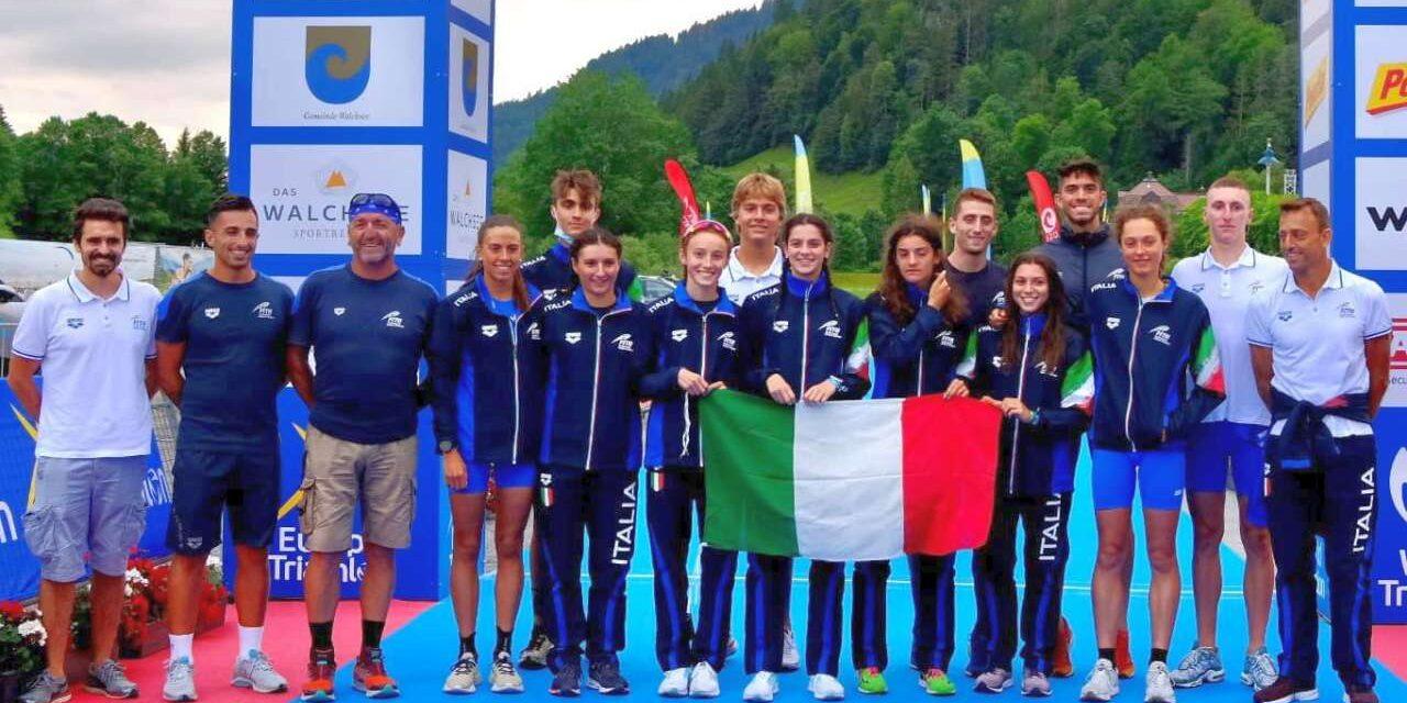 Europei Aquathlon a Walchsee, poker d'oro per l'Italia