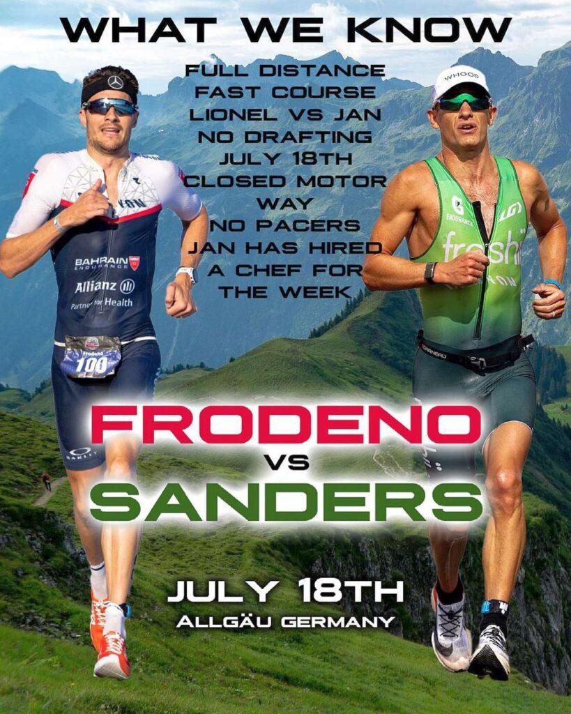 Jan Frodeno vs Lionel Sanders