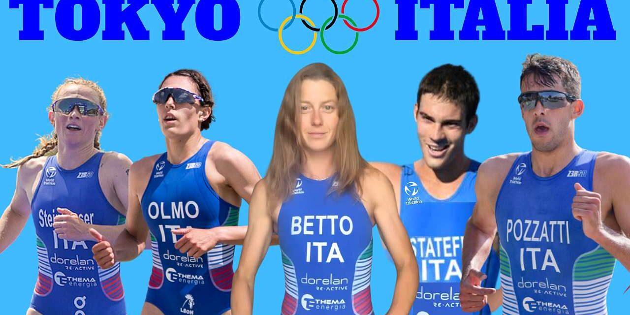 Annunciati gli azzurri per Tokyo! Betto, Olmo e Steinhauser, Pozzatti e Stateff, Fabian riserva