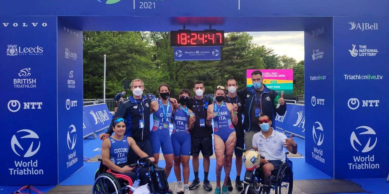 Il video racconto di Leeds: Anna Barbaro e Veronica Yoko Plebani d'argento, Maya Kingma e Alex Yee oro nel triathlon