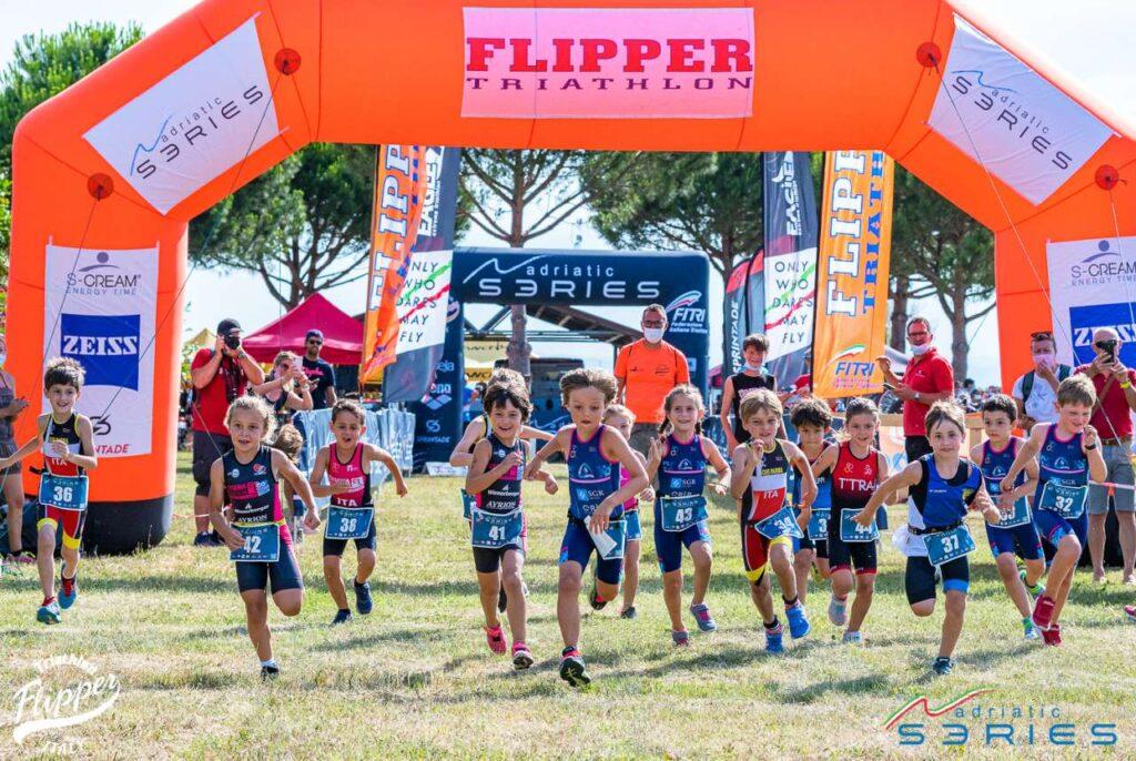 Triathlon Show Ravenna 2021, la carica dei bambini!