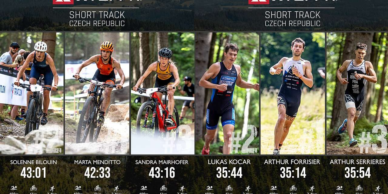 Marta Menditto trionfa all'XTERRA Czech Short Track!