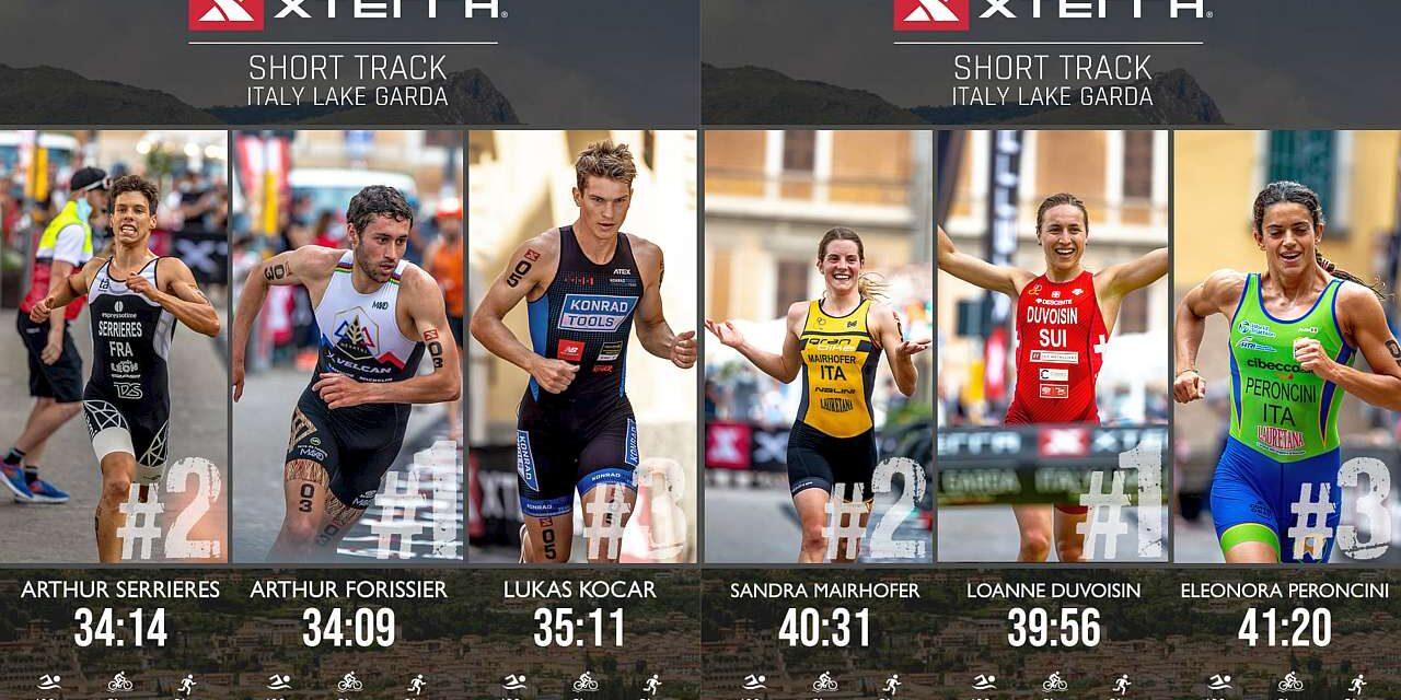 Il video racconto dell'XTERRA Short Track Lake Garda, Mairhofer e Peroncini sul podio