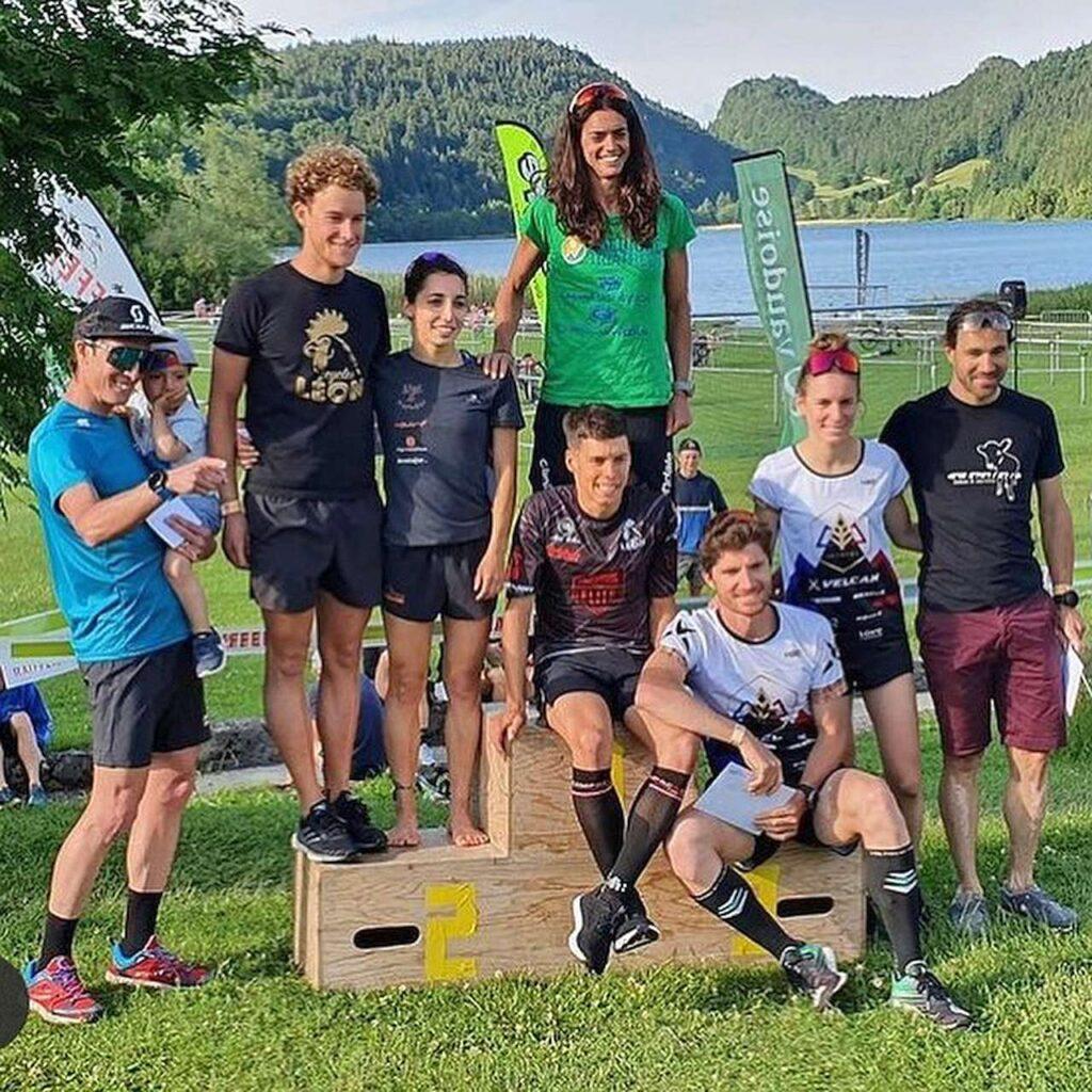 Il podio dell'XTERRA Switzerland 2021: vince Eleonora Peroncini!
