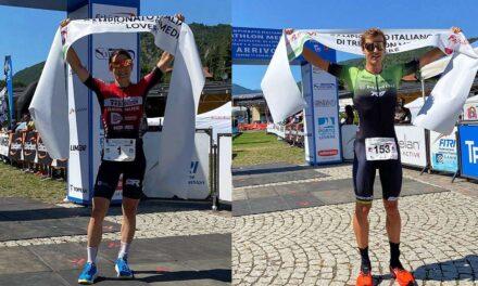 Marta Bernardi e Gregory Barnaby Campioni Italiani di triathlon medio, i podi a squadre ed Age Group