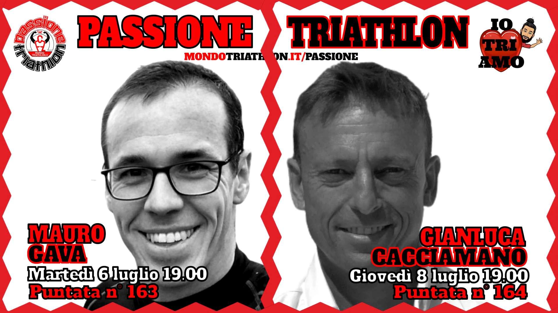 Passione Triathlon Protagonisti 6 e 8 luglio 2021