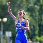 Grande tripletta azzurra sul podio della Europe Triathlon Cup Tiszaujvaros: applausi per Arpinelli, Azzano e Sarzilla!