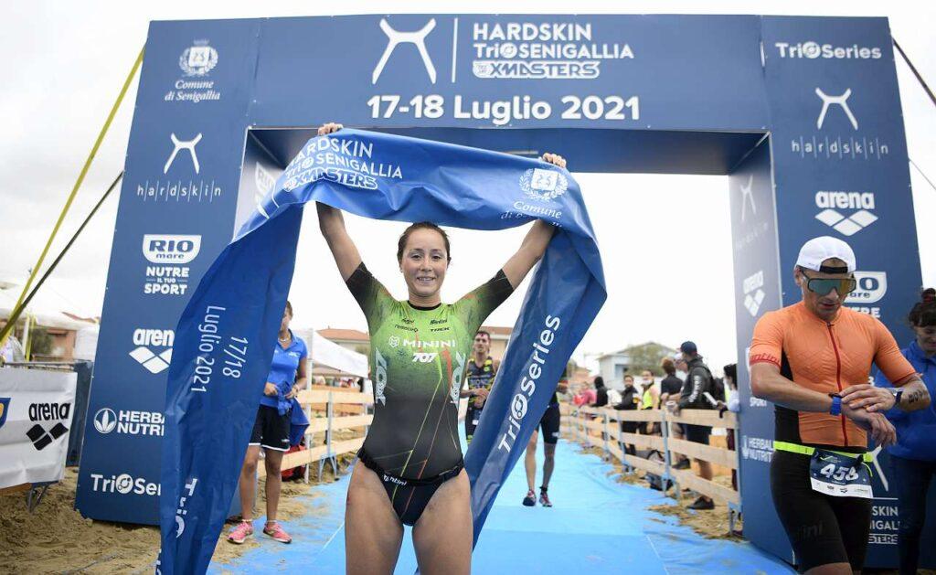 Hardskin TriO Senigallia 2021, Lilli Gelmini vince il duathlon atipico di sabato 17 luglio (Foto: Matteo Oltrabella)