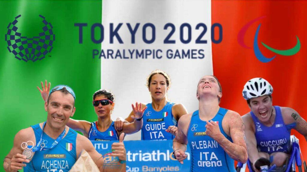 I 5 nazionali di Paratriathlon al via delle Paralimpiadi di Tokyo 2020