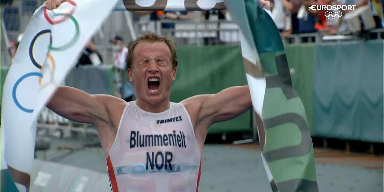 Kristian Blummefelt è l'oro olimpico del triathlon di Tokyo 2020! La classifica completa