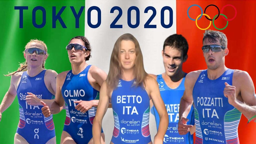 Gli azzurri a Tokyo 2020