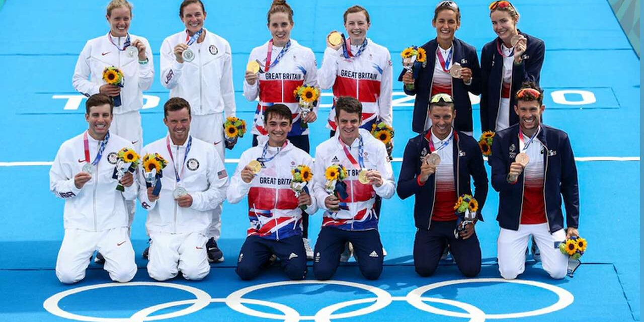 Gran Bretagna oro nella Mixed Relay di Tokyo 2020, sul podio USA e Francia, Italia 8^