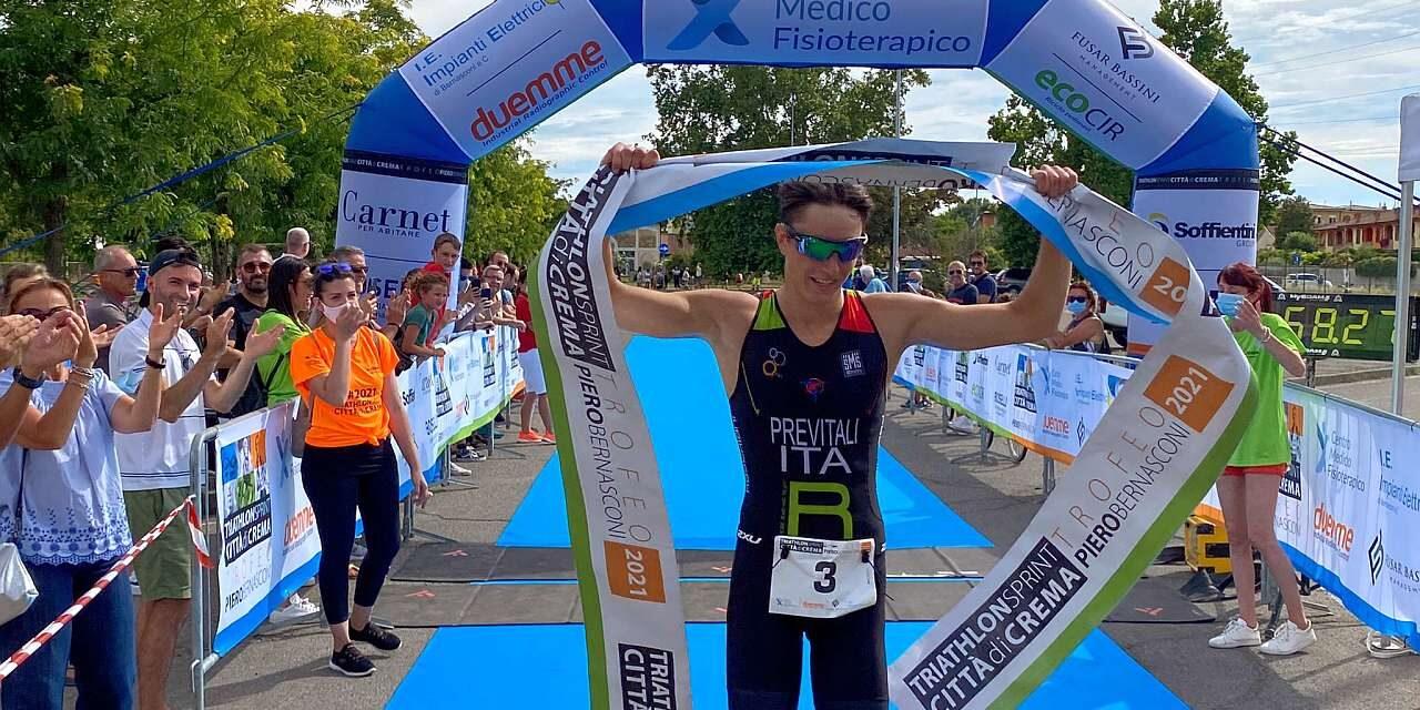 Applausi e commozione al 1° Triathlon di Crema Trofeo Piero Bernasconi