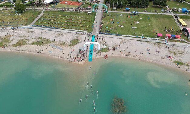 In 800 per la Triathlon Sprint Gold Silca Cup e per l'Aquathlon Kids in Alpago (BL)