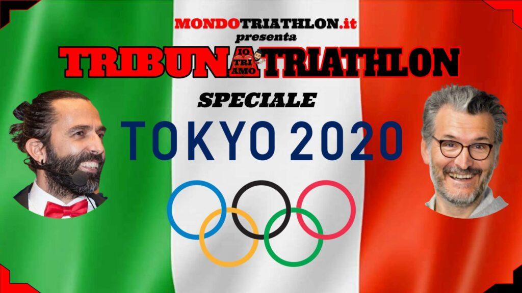 Tribuna Triathlon Speciale Tokyo 2020