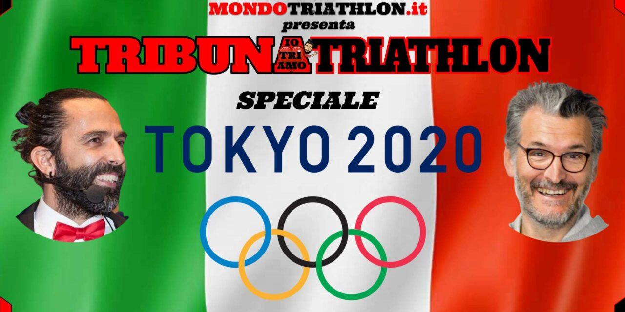 """Tribuna Triathlon """"Speciale Tokyo 2020"""": segui in diretta con noi tutto il triathlon ai Giochi Olimpiaci giapponesi!"""