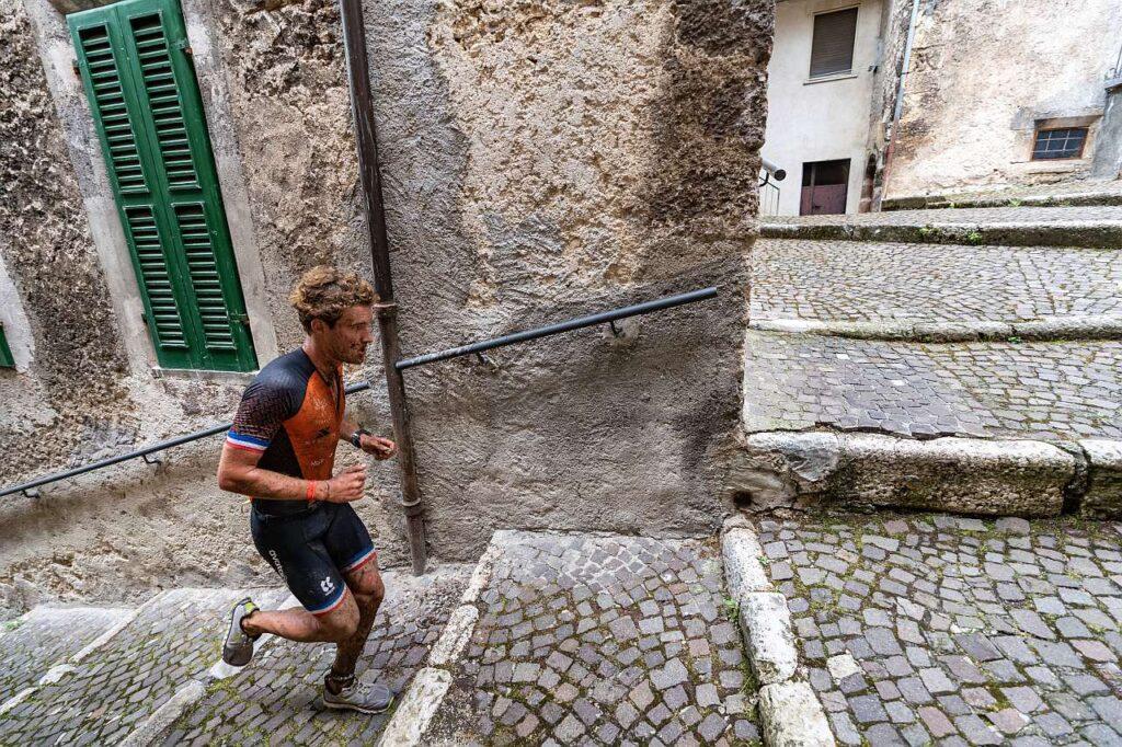 Il francesce Maxim Chané, nelle vie di Scanno, vince l'XTERRA Italy Lake Scanno del 18 luglio 2021