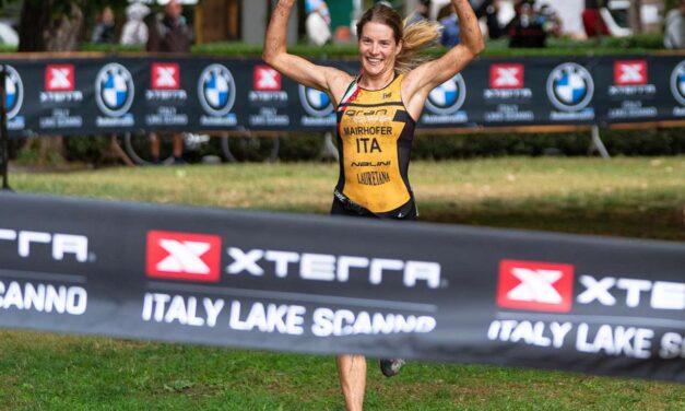 Tripletta azzurra all'XTERRA Italy Lake Scanno con Sandra, Eleonora, Marta, Barazzuol è d'argento