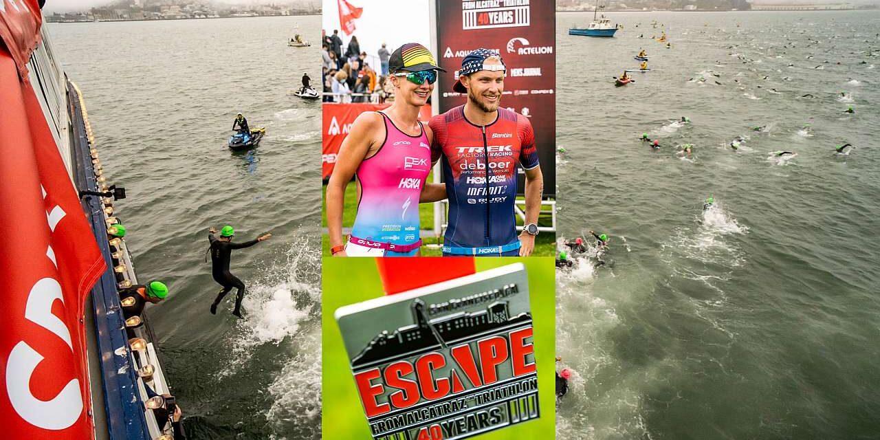 Ben Kanute ed Emma Pallant trionfano nel 40° Escape From Alcatraz di San Francisco