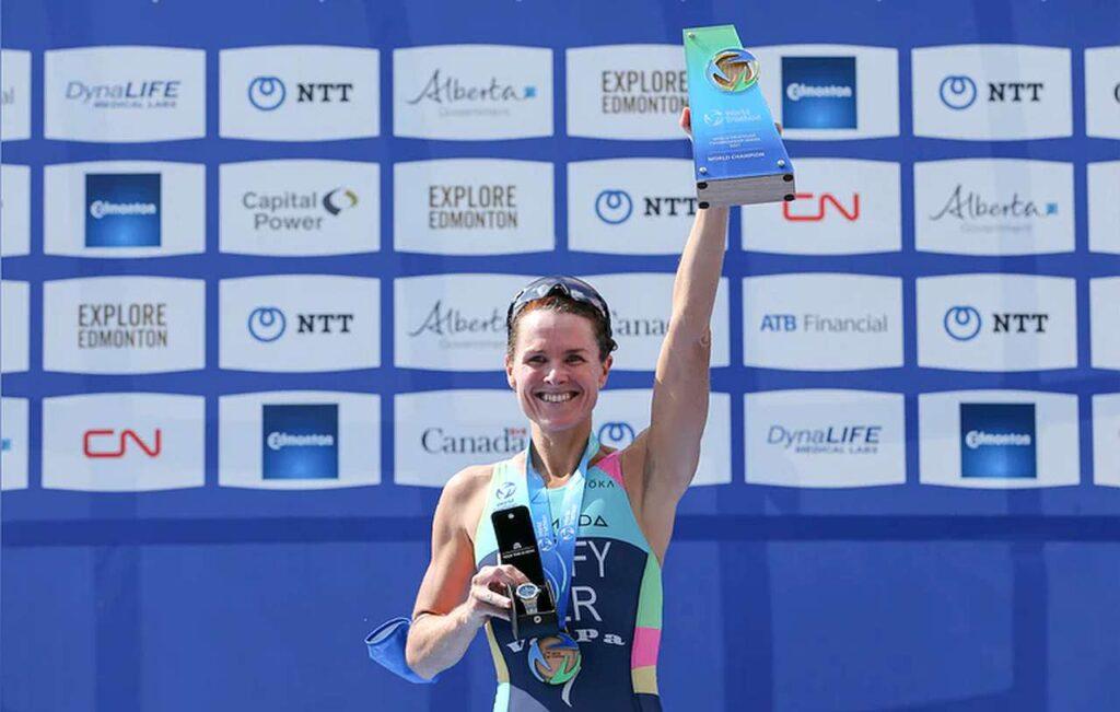 Flora Duffy vince il Mondiale World Triathlon Championship Series 2021