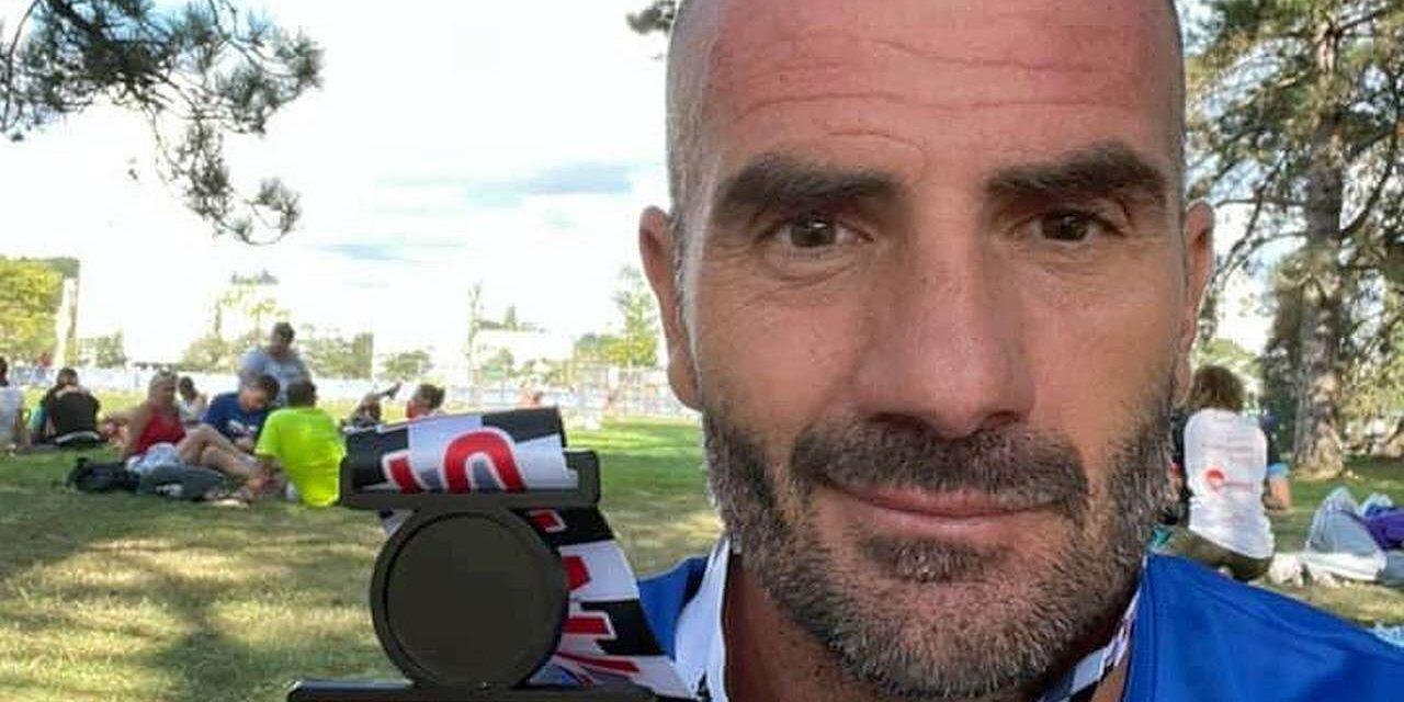 Bruno Pasqualini da applausi all'Ironman Vichy: 7° assoluto, 1° M45, vola a Kona!