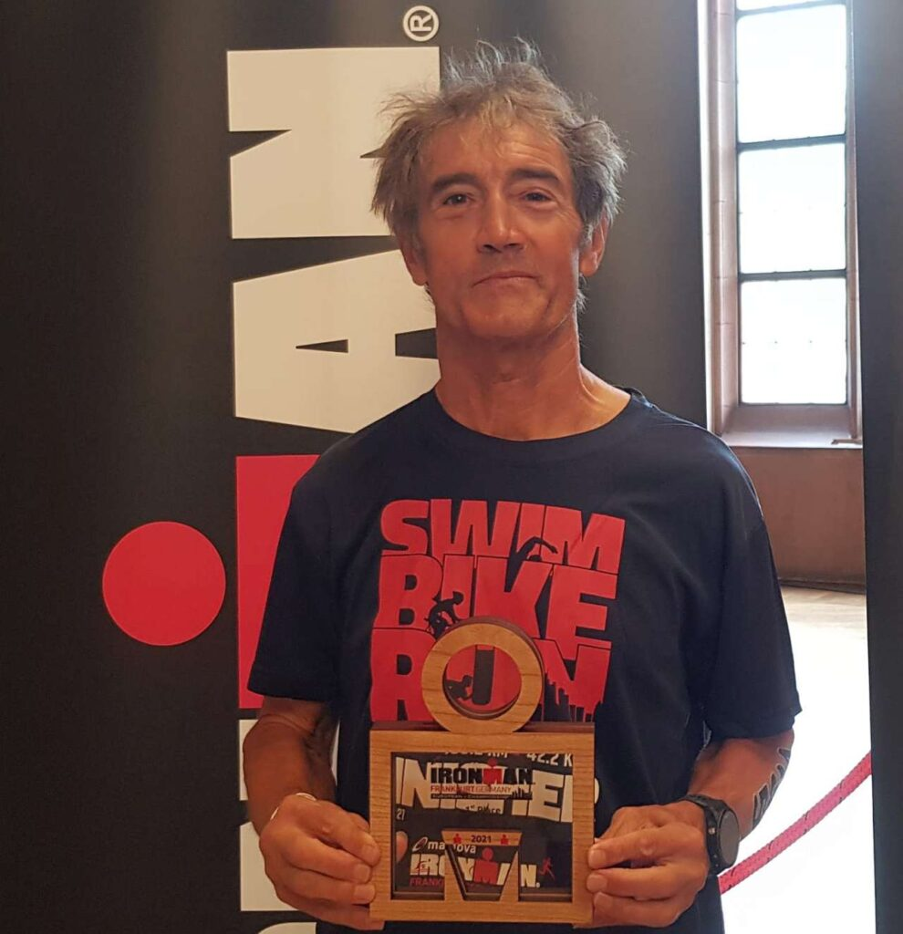 Gian Marco Tironi campione europeo Ironman 2021 a Francoforte