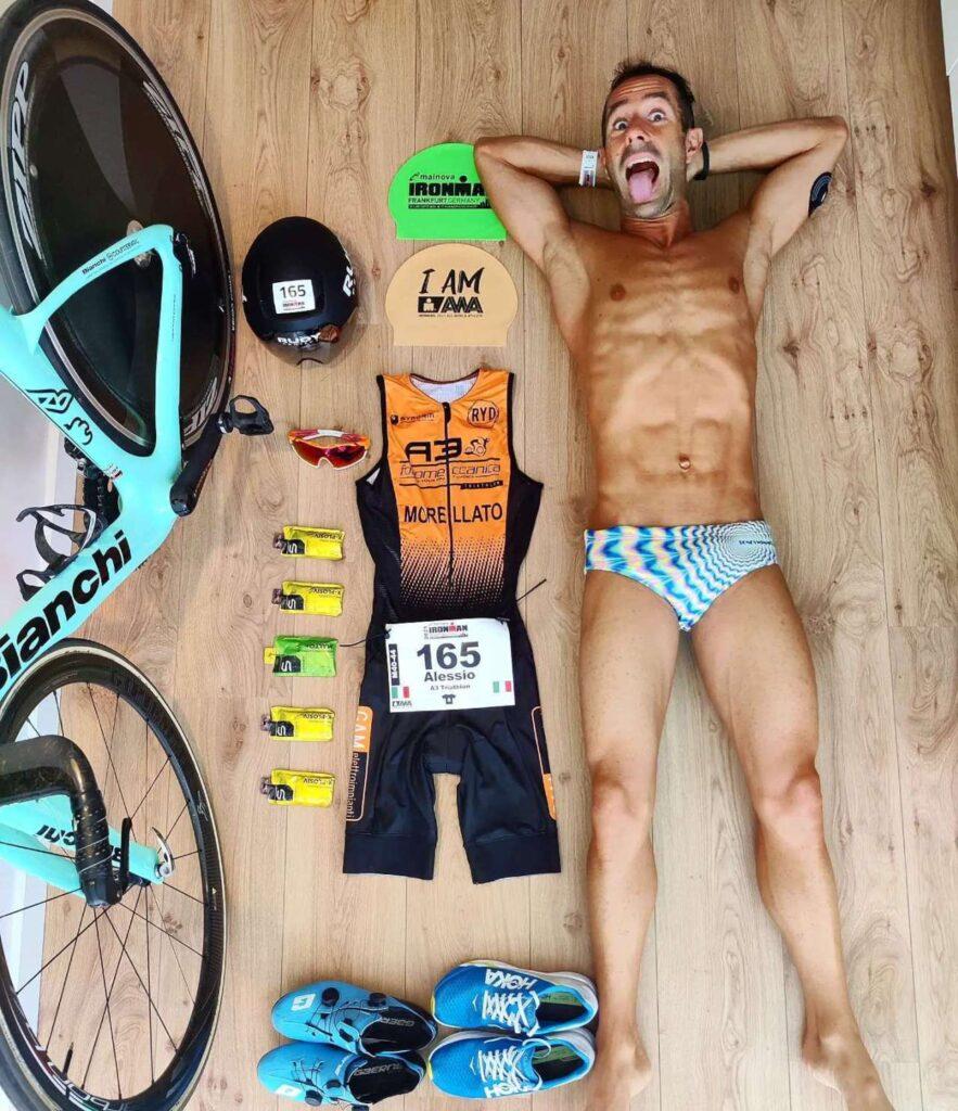 Alessio Morellato vince il titolo europeo Ironman il 15 agosto 2021 a Francoforte