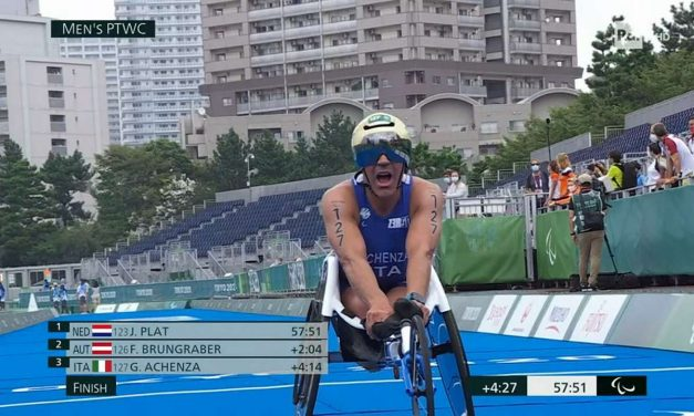 E sono tre! Giovanni Achenza conquista il bronzo alle Paralimpiadi di Tokyo 2020!