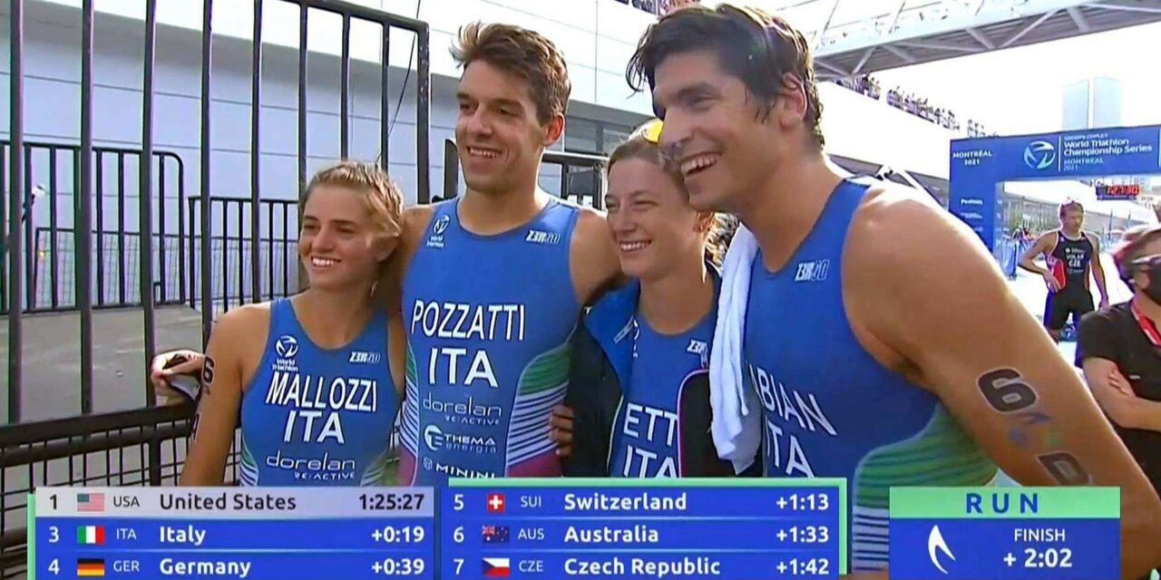 WTCS Montreal: Verena Steinhauser 8^ nell'Eliminator, Italia 3^ nella Mixed Relay
