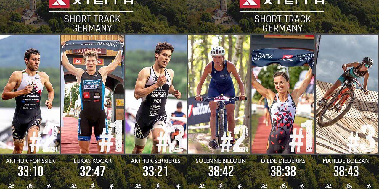 Lo Short Track di XTERRA Germany a Diede Diederiks e Lukas Kocar, ma che brava la nostra Matilde Bolzan!
