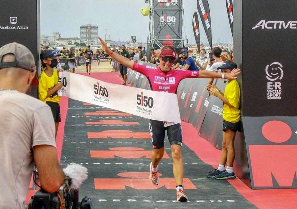 Giorgia Bandini vince il 5150 Triathlon Cervia del 19 settembre 2021